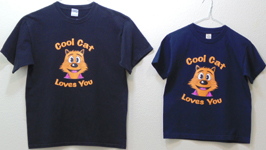Cool Cat Loves You shirts